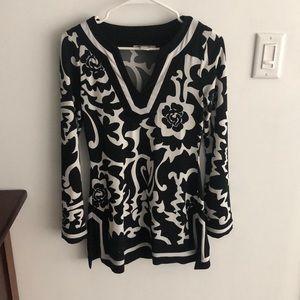 Black long tunic